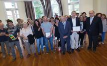 P.-J. Ferrali et J.-C. Rufin ont reçu le prix des lecteurs