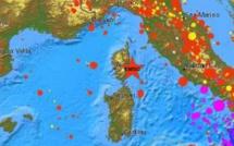 Tremblement de terre au sud d'Aleria Mardi matin