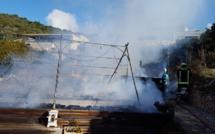 Sagone : Un chalet détruit dans un incendie