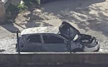Ajaccio : Une voiture détruite dans un incendie