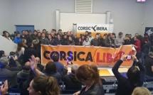 Dichjarazione di a giuventù in sustegnu à Corsica Libera