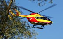 Zilia : L'homme blessé après une chute évacué sur Bastia