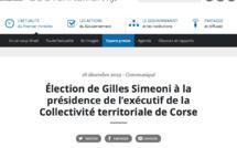 CTC : Manuel Valls a appelé Gilles Simeoni. Ils ont convenu de poursuivre un dialogue serein, constructif et apaisé.