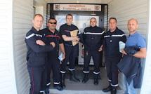 Bastia : L'intersyndicale CGT-STC des pompiers de Haute-Corse occupe les locaux du Sdis