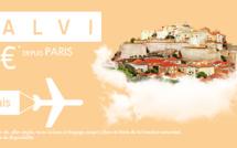 Les variations de prix d'ASL Airlines entre Roissy et Calvi