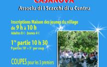 Echecs-Scacchi :  27e Open de A Casanova dimanche