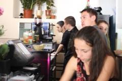 restaurant éphémère de s élèves de l'EREA 007