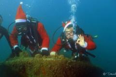 Plongée de Noël