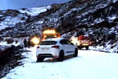 Accident neige