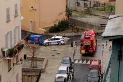 Incendie Bastia