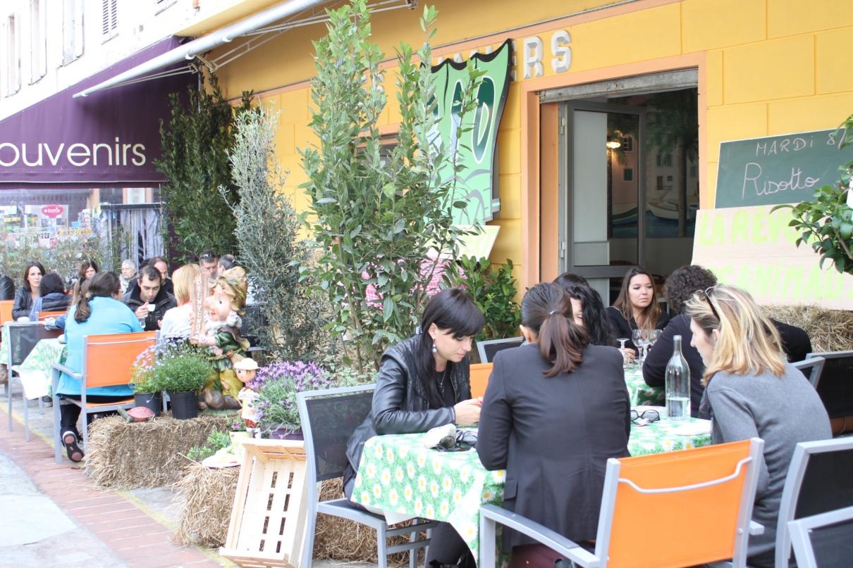 restaurant éphémère de s élèves de l'EREA 002