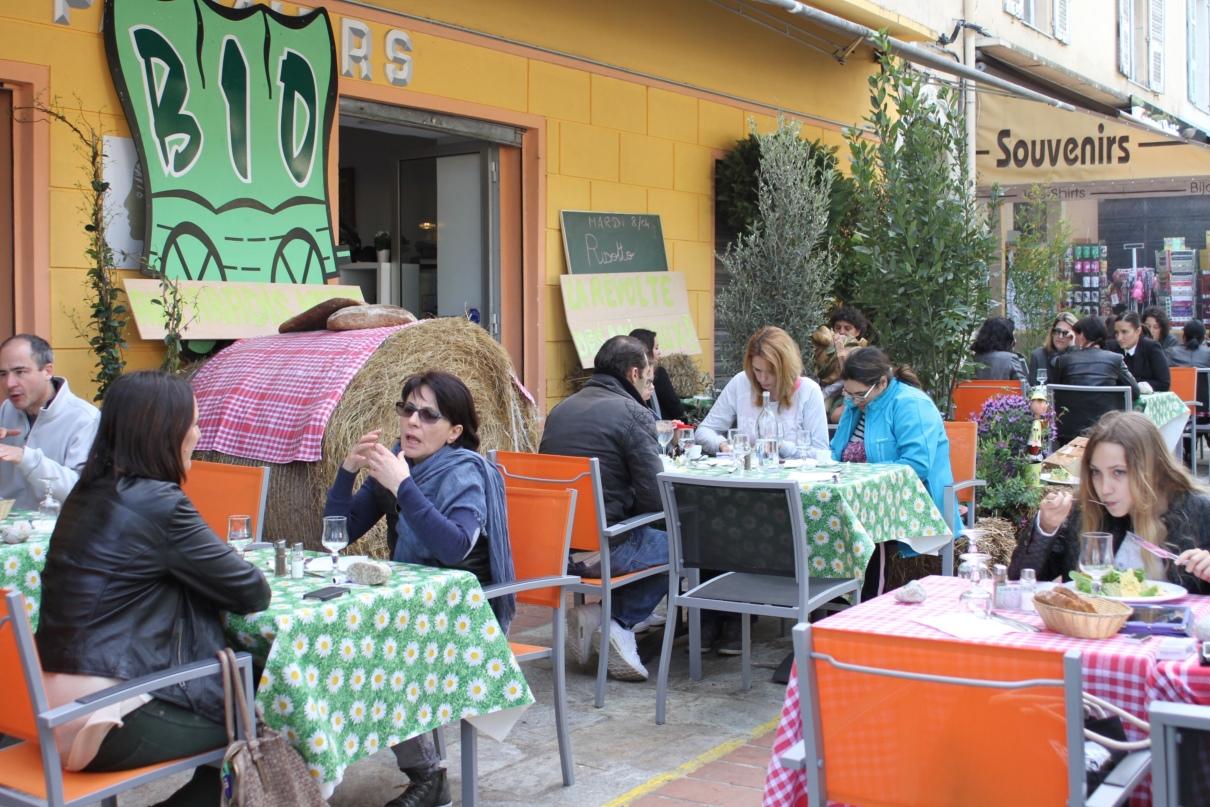 restaurant éphémère de s élèves de l'EREA 004