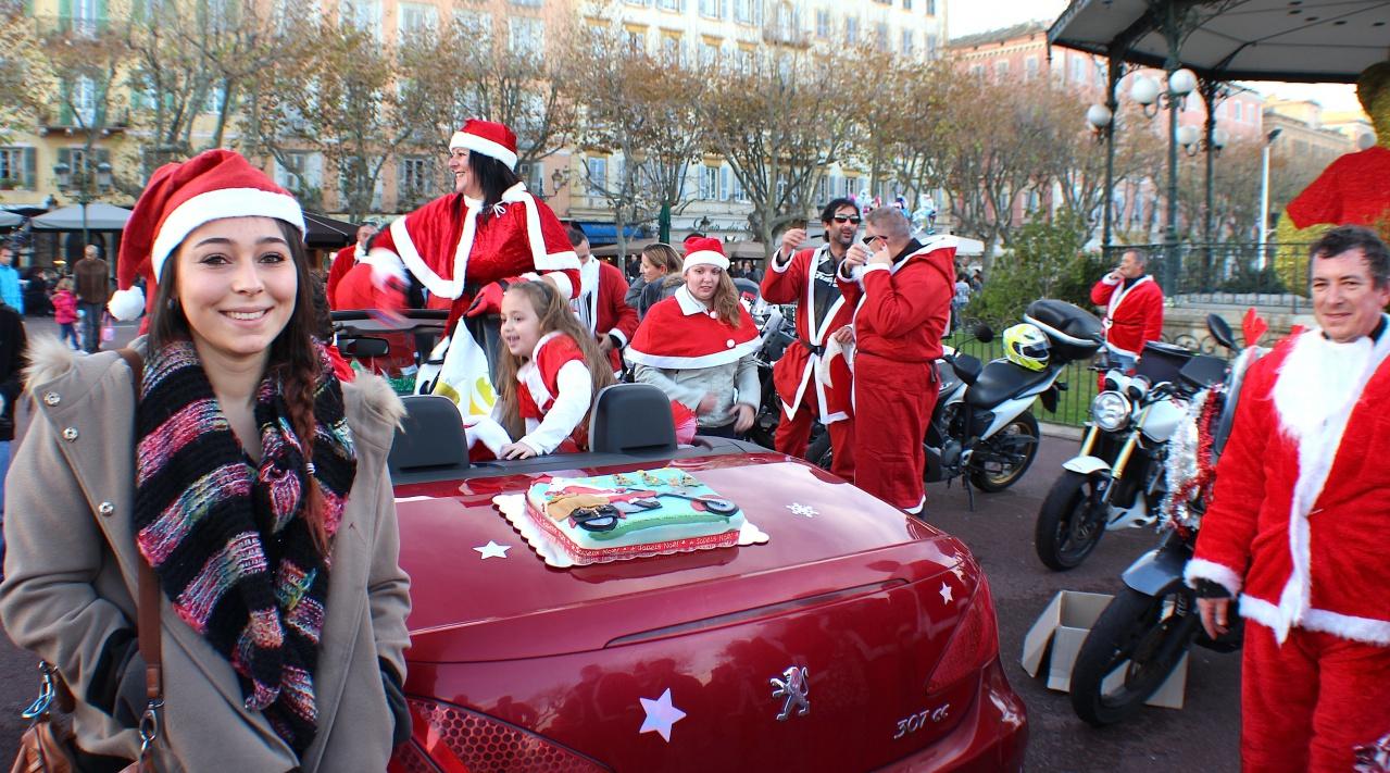 Motards de Noël Bastia