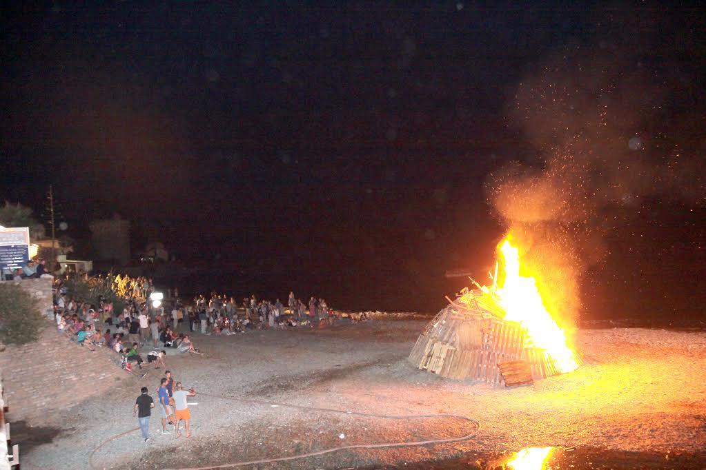 San Ghjuvà sur la plage de Miomu