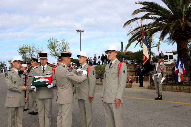 2e REP: Remembrance Day in Calvi 2015