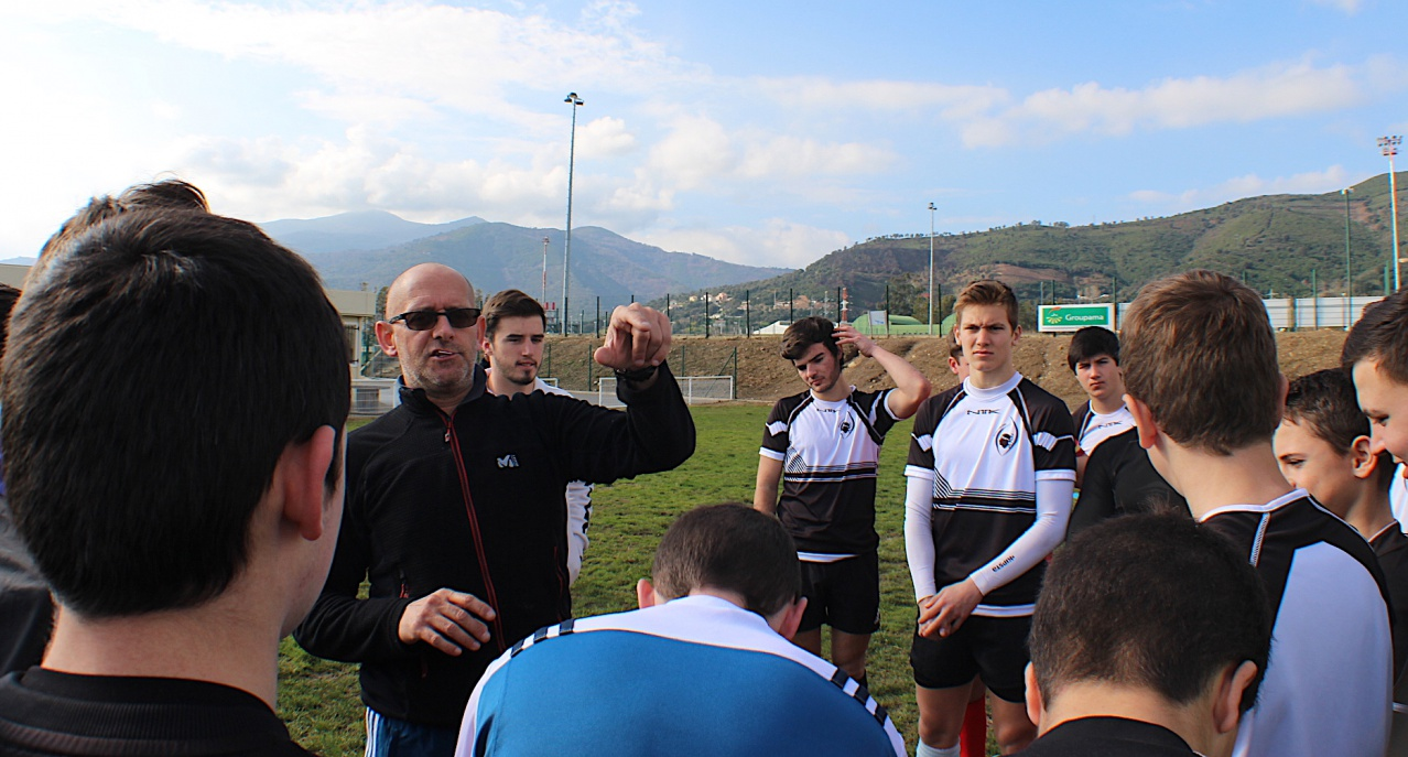 Stage U16 Corse avec France 7